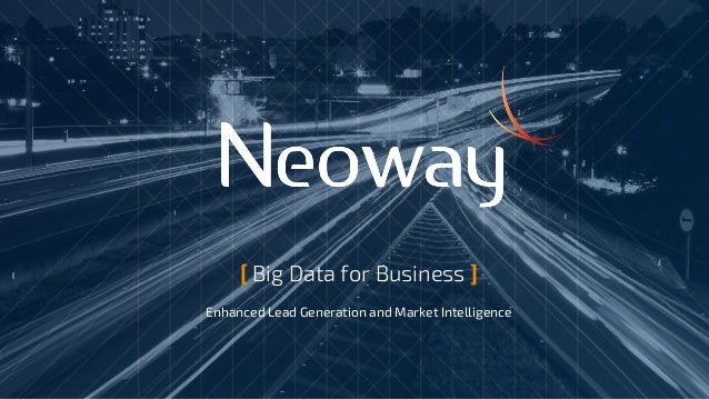 [ Big Data for Business ] Enhanced Lead Generation and Market Intelligence