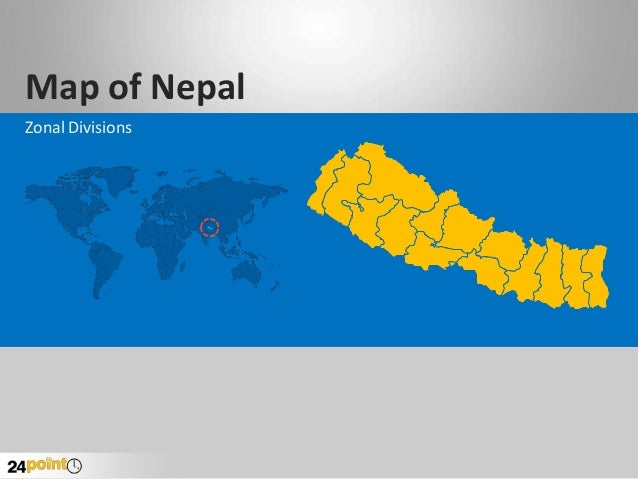 Map of Nepal Zonal Divisions