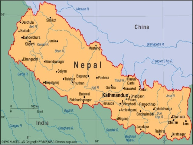 Nepal - What country is nepal in