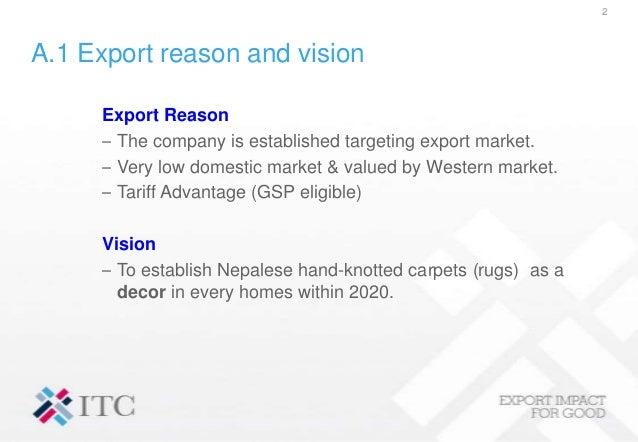 Nepal Carpet Report