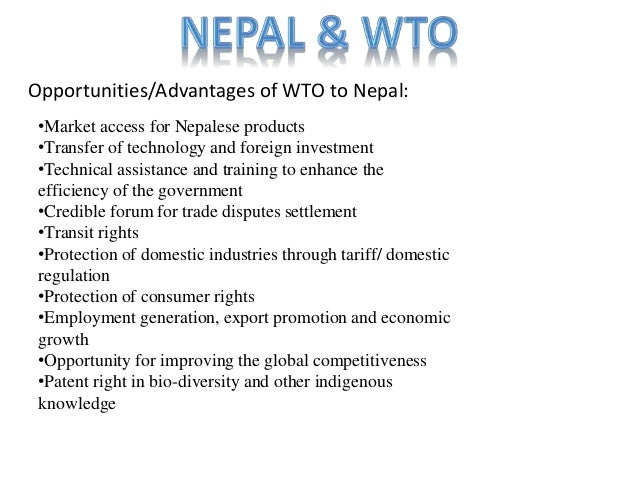 The 10 benefits of the wto