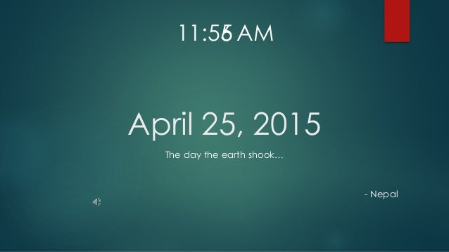 April 25, 2015 The day the earth shook… - Nepal 11:55 AM6