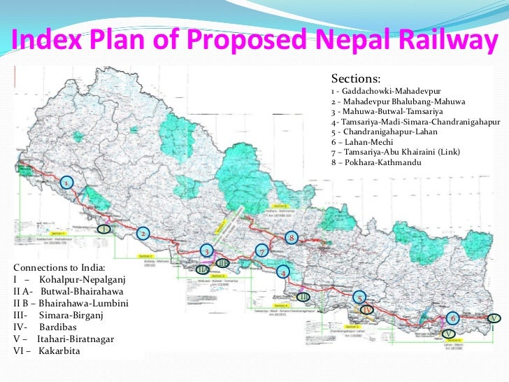 Nepal east west rail project-feasibility study draft report presentat…