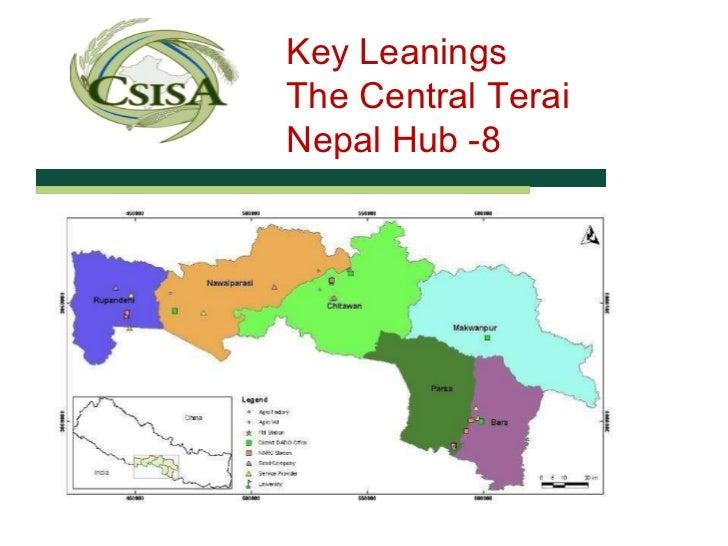 Key Leanings  The Central Terai  Nepal Hub -8