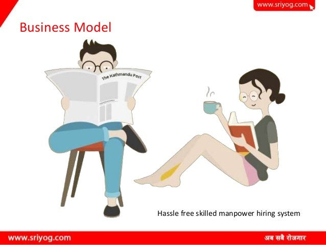 Business Model Hassle free skilled manpower hiring system