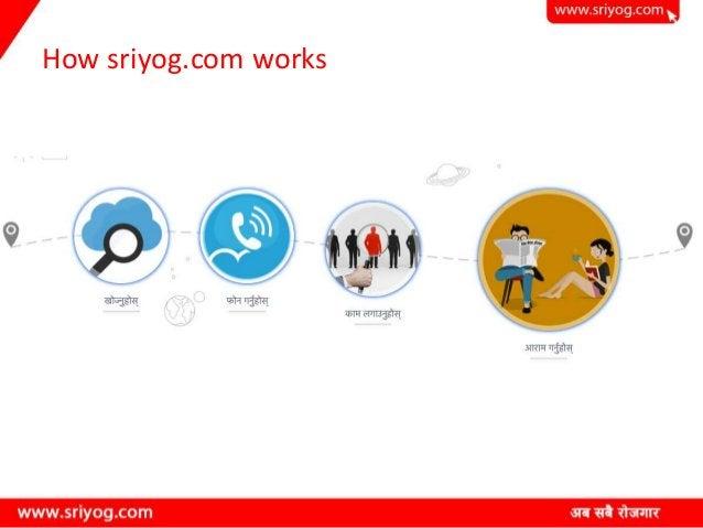 How sriyog.com works