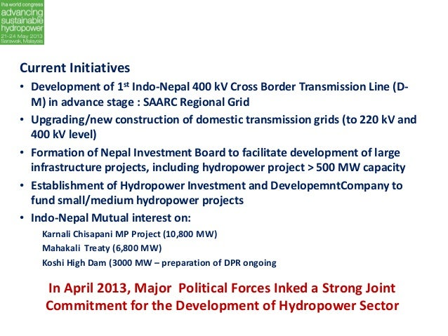 analysis of the indo nepal mahakali treaty The pancheshwar dam will be built on the mahakali river, which flows from nepal through  analysis nation top  two countries in 1996 called the mahakali treaty.
