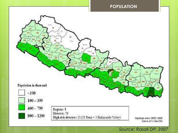 Nepal poverty mapping: Infrastructure