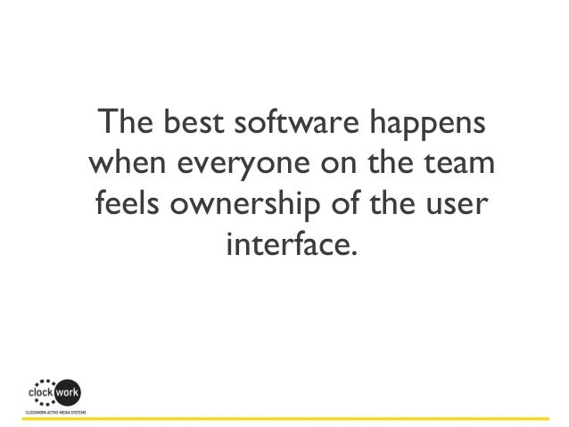 You Can UX Too: Avoiding the Programmer's User Interface @ NEPHP 2013