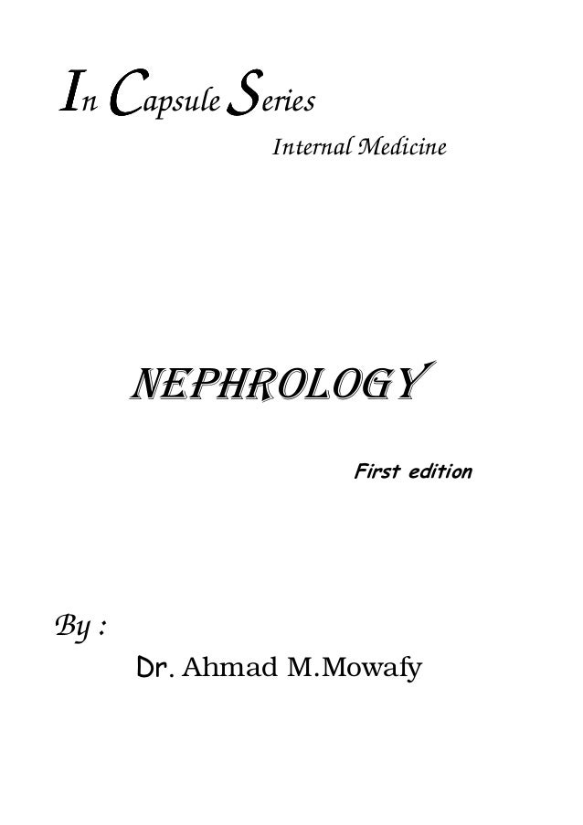 Nephrology dr ahmed mowafy