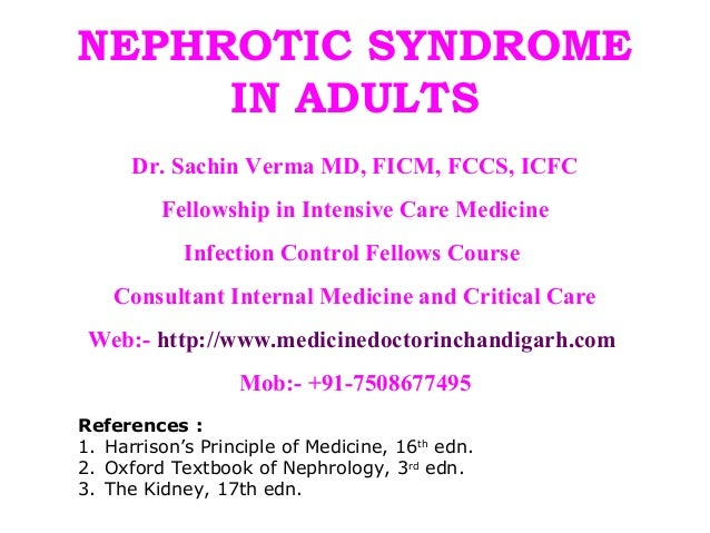 nephrotic syndrome essay