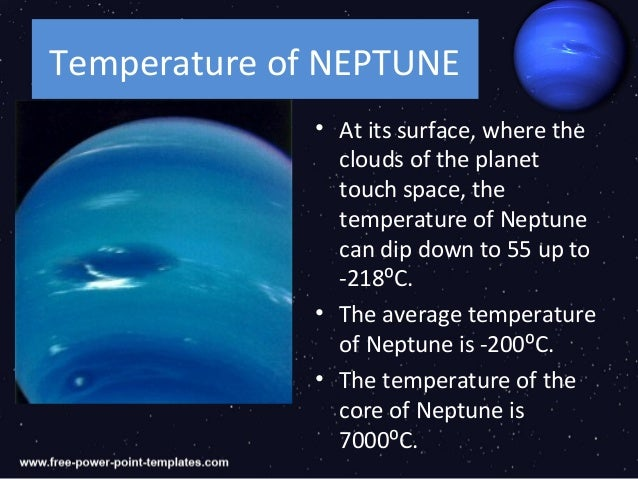 What Are the Temperatures of the Nine Planets