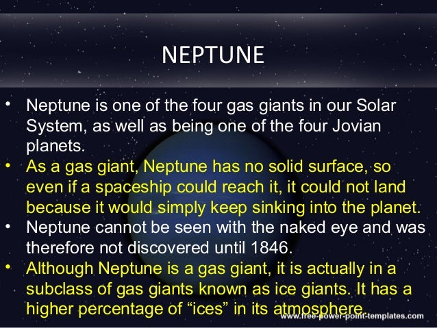 Fun Facts About Neptune For Kid