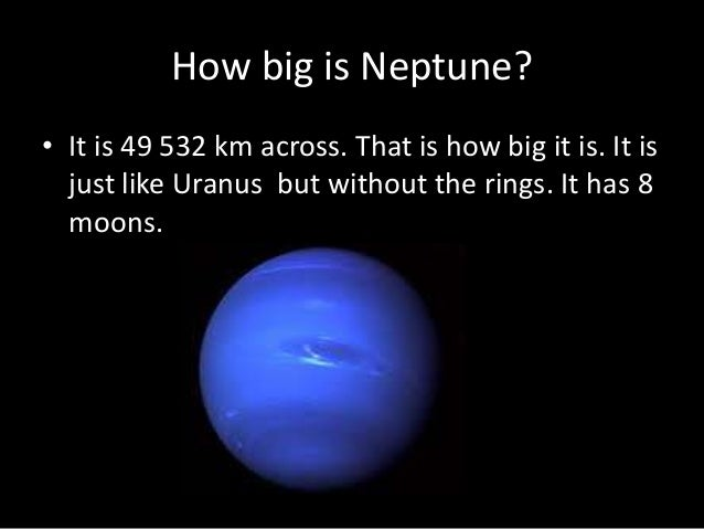 how big is neptune Gallery