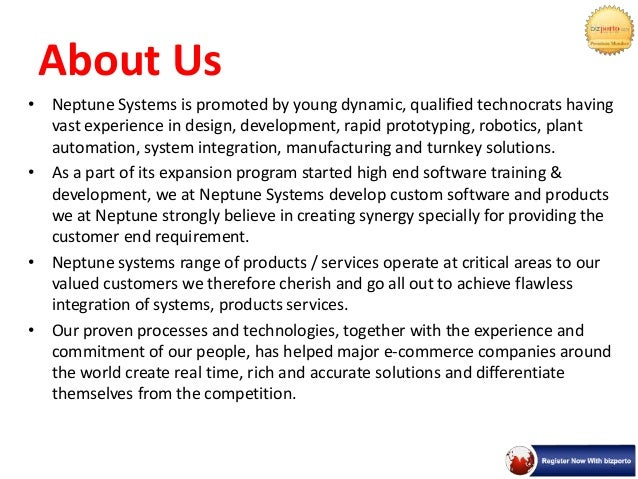 Plant Automation In Pune - Neptune Systems