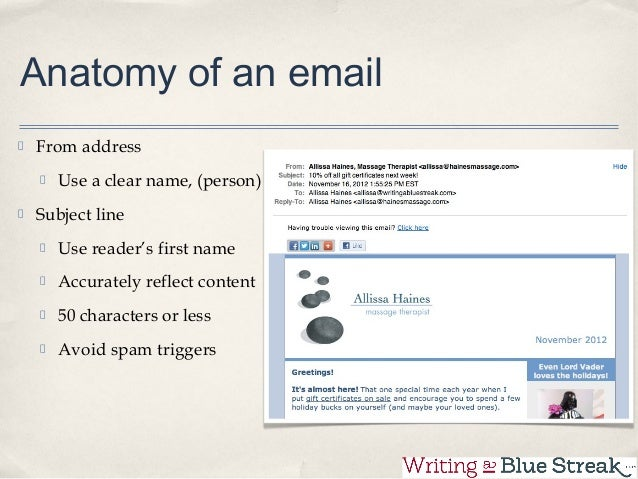 Email Marketing For Massage Therapists
