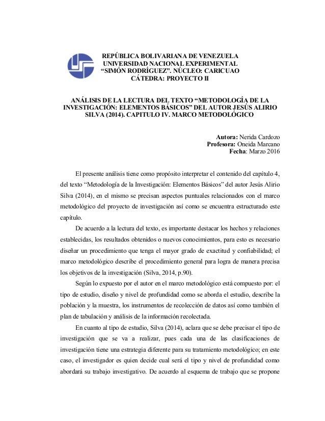 "REPÚBLICA BOLIVARIANA DE VENEZUELA UNIVERSIDAD NACIONAL EXPERIMENTAL ""SIMÓN RODRÍGUEZ"". NÚCLEO: CARICUAO CÁTEDRA: PROYECTO..."