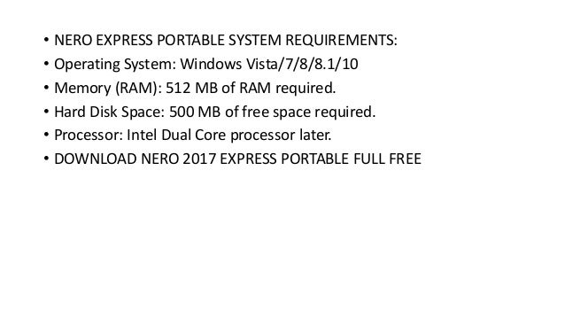 free download nero express full version for windows 8