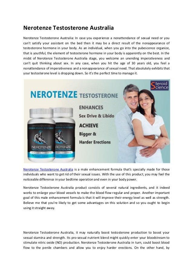Nerotenze Testosterone Australia Nerotenze Testosterone Australia: In case you experience a nonattendance of sexual need o...
