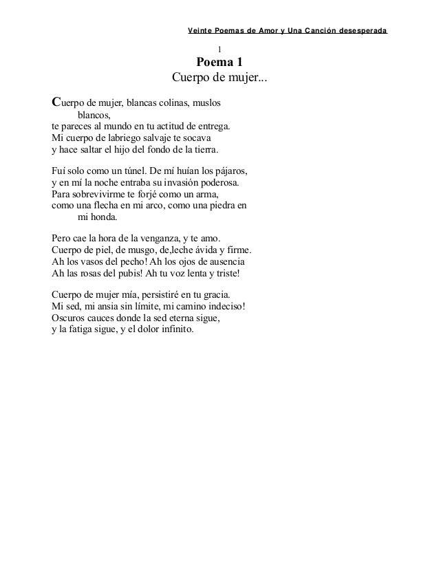 Pablo Neruda 20 Poemas
