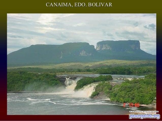 CANAIMA, EDO. BOLIVAR