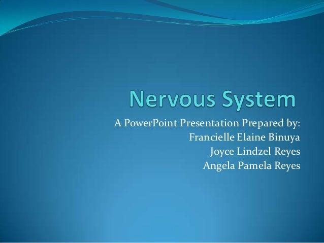 A PowerPoint Presentation Prepared by:               Francielle Elaine Binuya                   Joyce Lindzel Reyes       ...