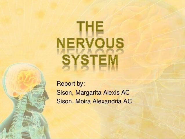 Report by: Sison, Margarita Alexis AC Sison, Moira Alexandria AC