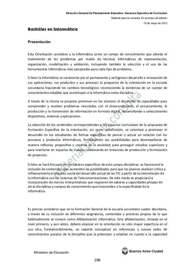 NES - Bachiller en Informática - v15julio2013
