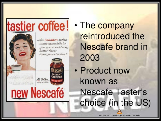 nescafe 3in1 swot analysis This research paper swot analisis nestle malaysia and other which included swot, pest and financial analysis plus the marketing nescafe menu is.