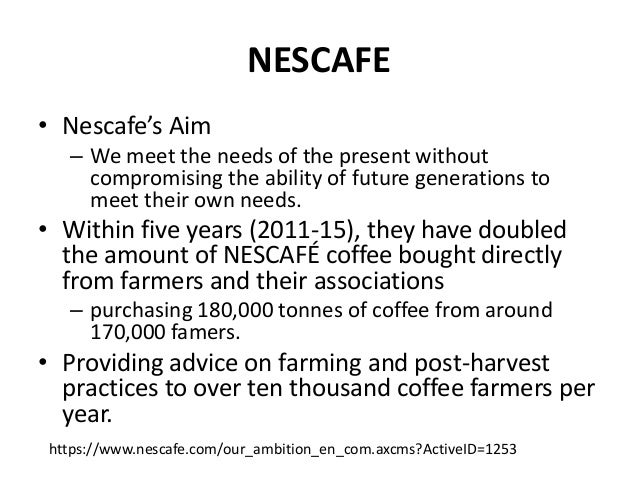 imc plan of nescafe Did you know help keep vimeo safe and clean learn how to report a violation.