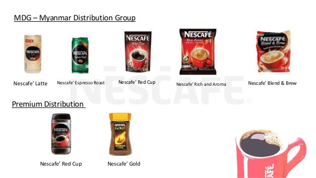 Nescafe project