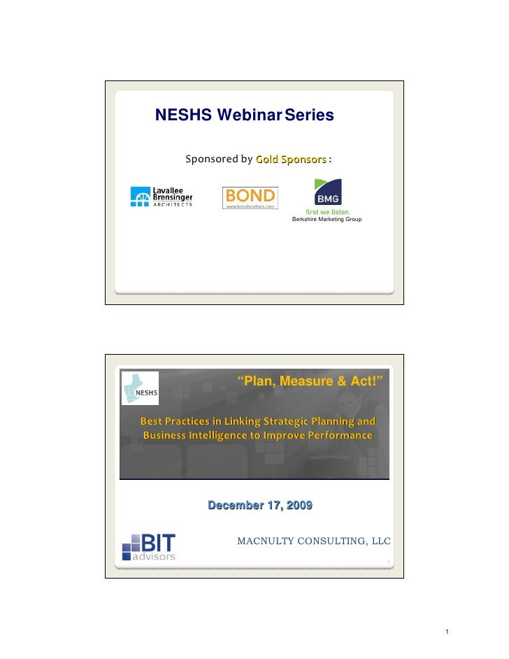 NESHS Webinar Series           SponsoredbyGoldSponsors :                                    Berkshire Marketing Group  ...