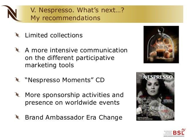 nespresso marketing mix Essay on marketing group assignment nespresso premium supermarkets and marketing mix: product: nespresso offers a extensive range of premium products in the.