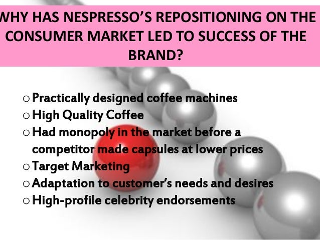 nespresso marketing analysis 2015-3-23  strategic analysis of nestle company management essay print  such as nesquik and nespresso  revaluate its swot analysis in terms of switching.