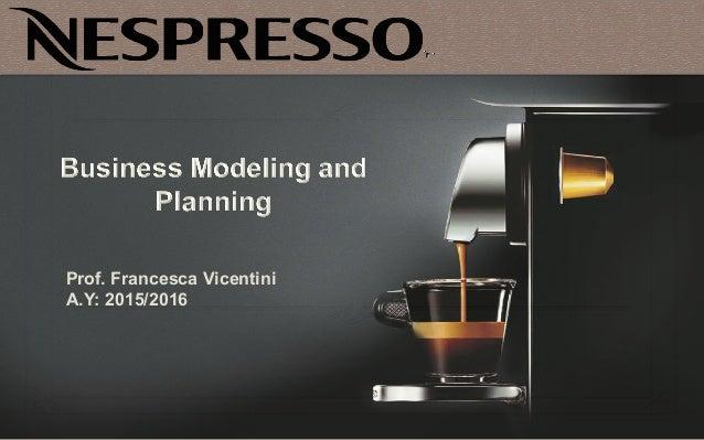 Nespresso Business Model Innovation -> Nespresso For Business