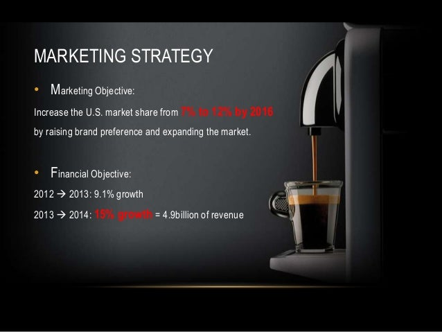 nespresso marketing plan Our strategy - the nespresso roadmap for sustainable growth a passion for quality, innovation and privileged relationships with consumers 30 years ago.
