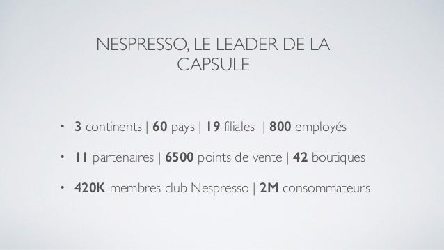 nespresso case study This feature is not available right now please try again later.