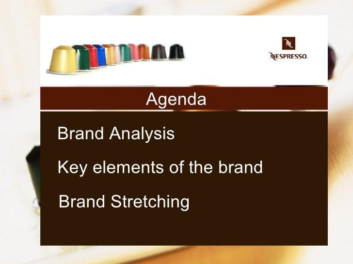The analyze of Nespresso brand Slide 2
