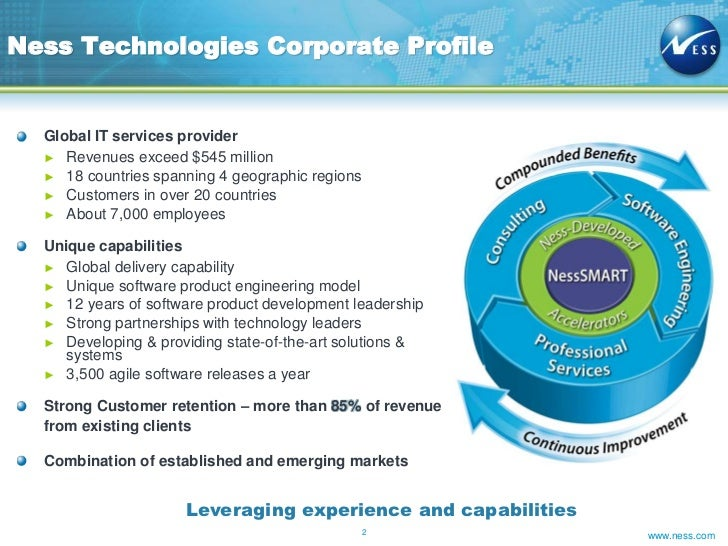 Ness - AAA Accredited IBM Tivoli Business Partner  Slide 2