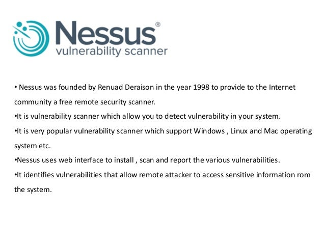 Nessus Software