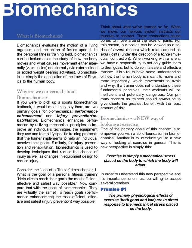 nesta personal trainers certification biomechanics rh slideshare net SHRM Exam Study Guide Nce Exam Study Guide