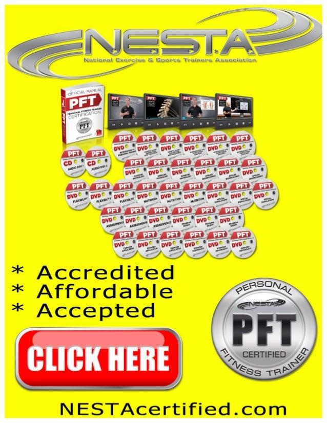 Nesta Personal Trainers Certification Biomechanics