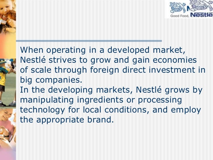 nestle targeting strategy The marketing mix of nestle discusses the 4p's of nestle which is one of the strong fmcg companies of the world the nestle marketing mix shows nestle has a strong.