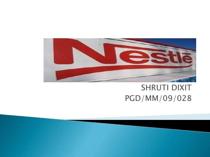 SHRUTI DIXIT<br />PGD/MM/09/028<br />