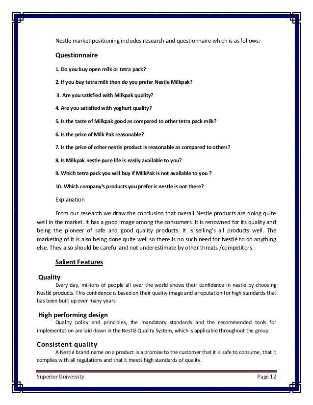 Bcg Matrix for Nestle Bangladesh Limited Sbus