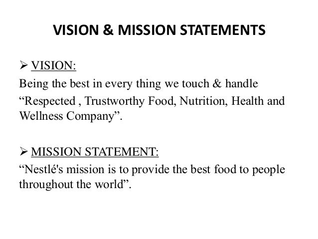 Fedexs vision statement and analysis