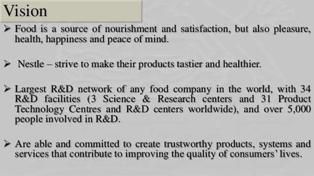 operational research in nestle Universities, research establishments and private  joint research by nestlé and  l'oréal is leading to totally  whole of r&d and nestlé operations: the quality.