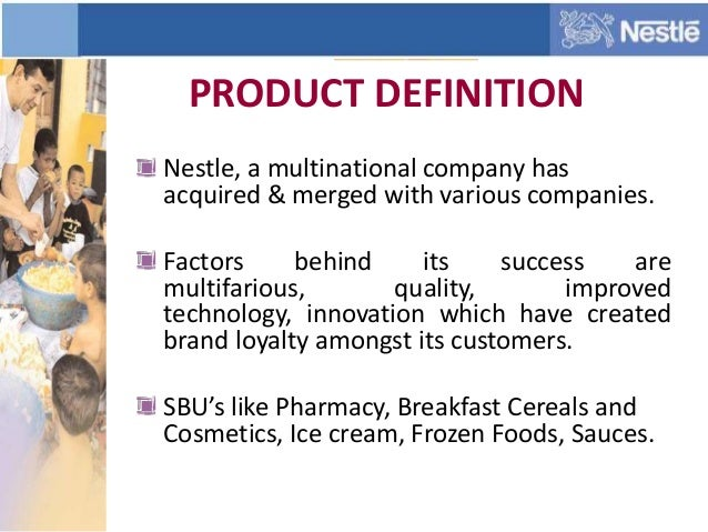 Nestle and BCG matrix strategy