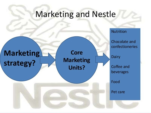 Nestle recommendations strategy