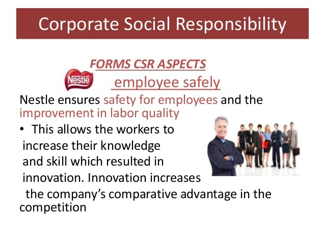 the concept of corporate social responsibility Sustainability or social responsibility  (corporate) social responsibility or  perhaps you would like to propose a new name for this concept as .